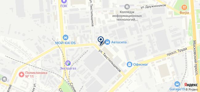 Техпрон, ООО на карте