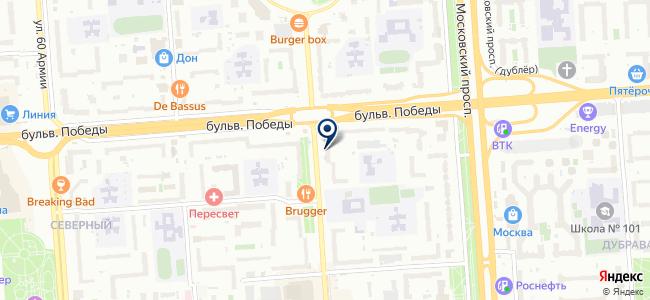 Воронежская электронная компания, ООО на карте
