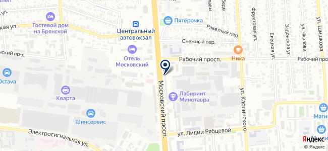 ДомТекс на карте
