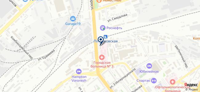 Гамма, ЗАО на карте