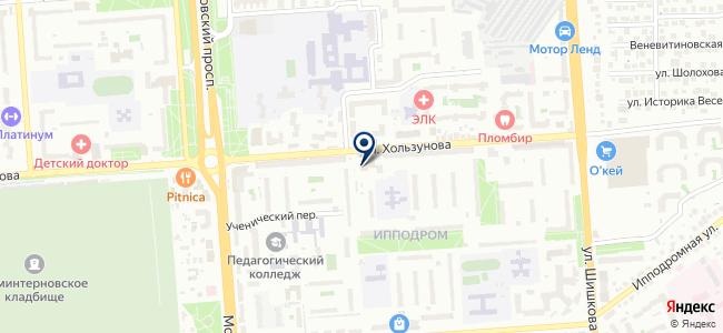 Энкор-Инструмент на Хользунова на карте