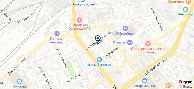 Электронные компоненты на карте