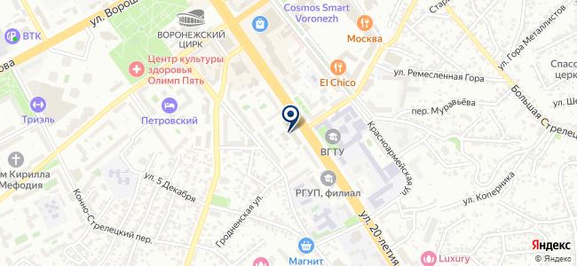 Ирмос, ООО на карте