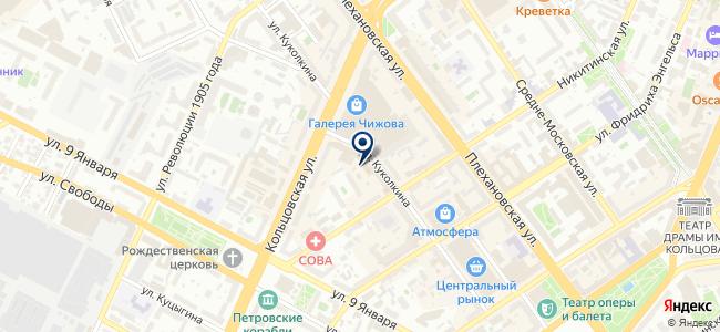 Тензор, ООО на карте
