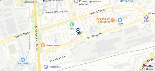 Айвенго, ООО на карте