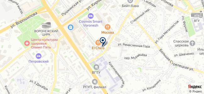 МЭЛ, ЗАО на карте