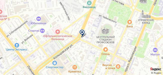 Сервисавтоматика, ООО на карте