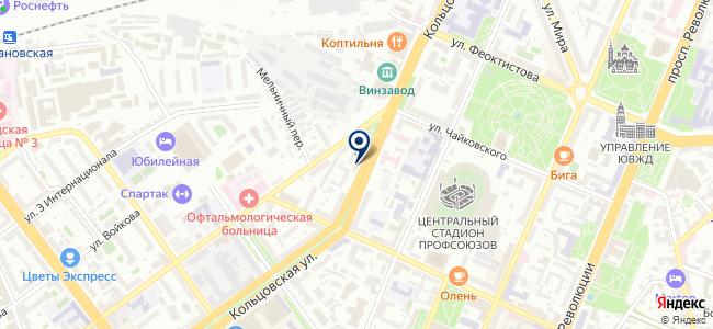 Светодиод на карте