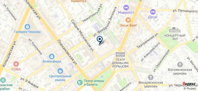 Комнет, ООО на карте