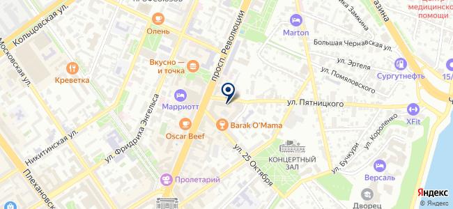 Отделение электросвязи №22 на карте