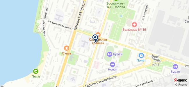 Информзащита на карте