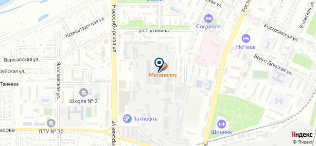 ТСС-Воронеж, ООО на карте