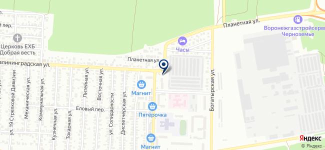 Инструменталь на карте