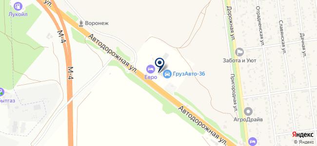 Панорама, ООО на карте