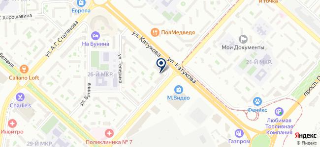 Обои Люкс на карте