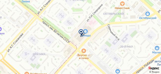 Магазин электро и радиотоваров на карте