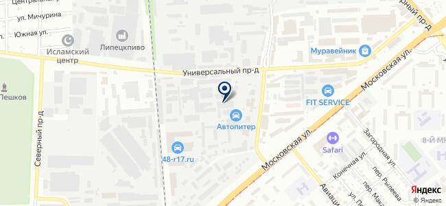 Инструмент клуб на карте
