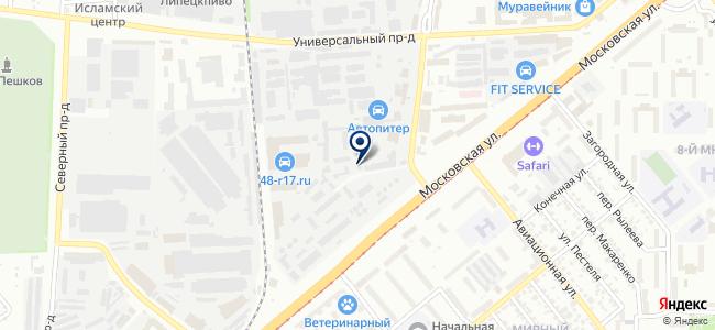 ПромСнаб, ООО на карте