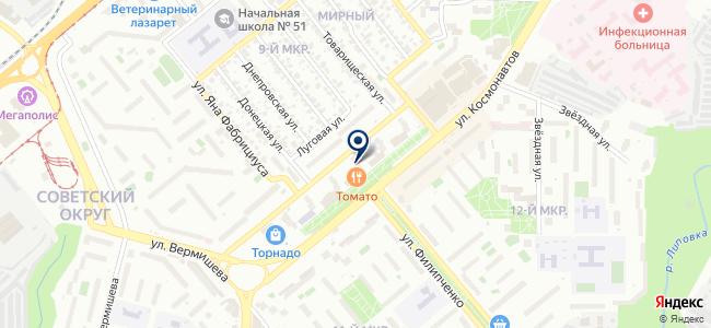 Магазин товаров для дома и интерьера на карте