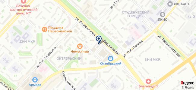 Артико Холл на карте