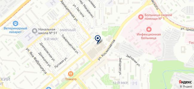 Магазин инструментов и электронагревательного оборудования на карте