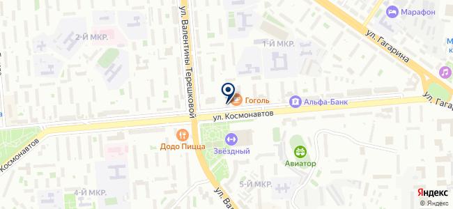 Ремстройсервис, ЗАО на карте