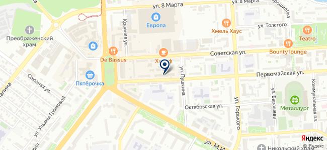ГЛЯНЕЦ на карте