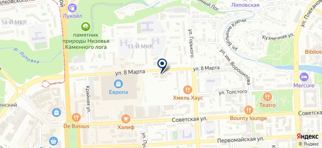Арсенал, ООО на карте
