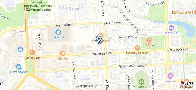 Энергон на карте