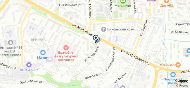 Центр технических измерений, ООО на карте