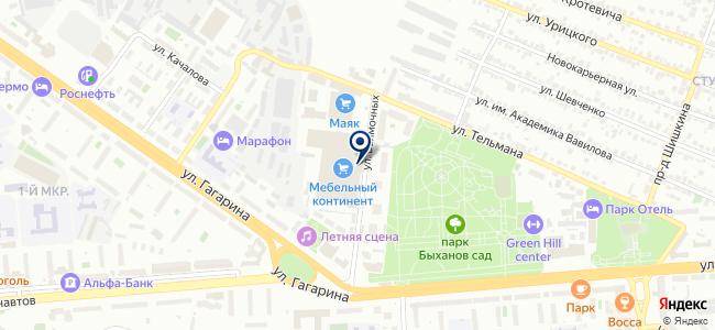 Электроцентроналадка на карте