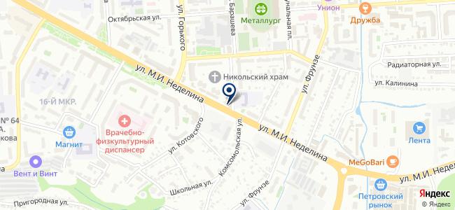 Центральная финансово-строительная компания, ЗАО на карте