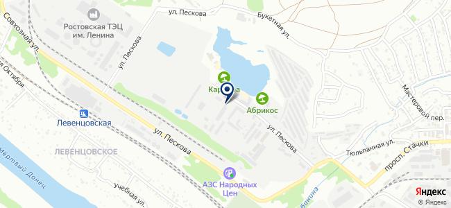 Информсистема, ООО на карте