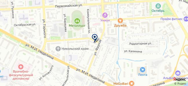 МС Диагностика на карте