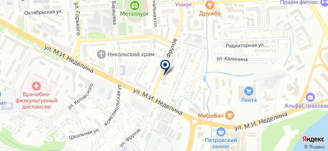 Профисвет на карте