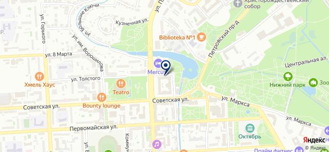 Протон-Липецк, ООО на карте