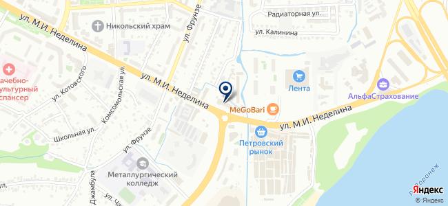 Свет Черноземья, ООО на карте