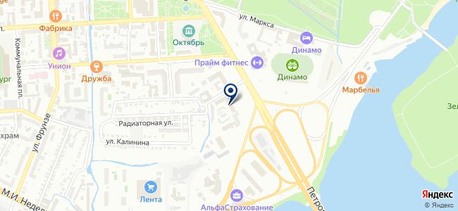 Липецк Восток Сервис, ЗАО на карте