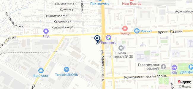 Креп-Электро на карте