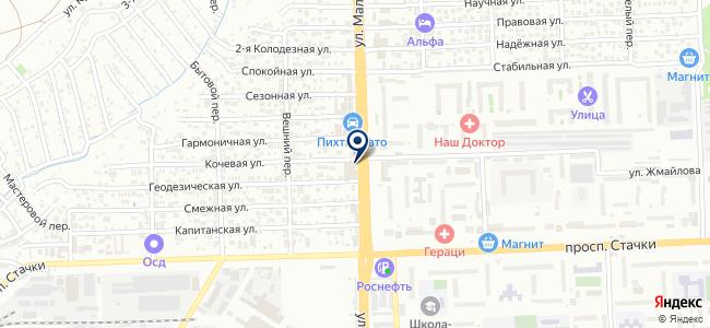 Vip Драйвер на карте