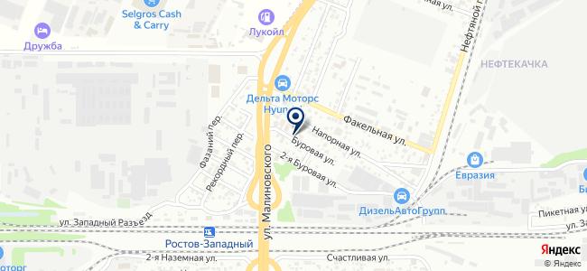 Альфа Нева, ООО на карте