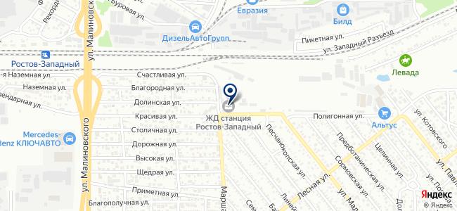 МАКСКОМ-РСТ, ЗАО на карте