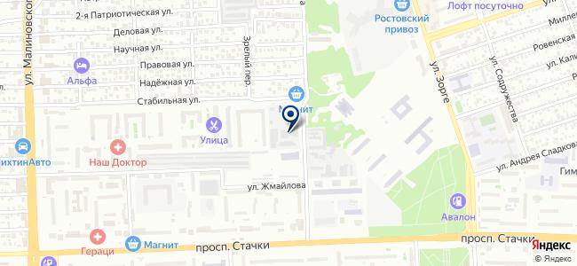 Квант, ОАО на карте