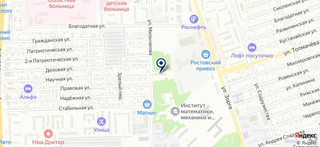 Пьезоприбор на карте