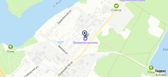 Промэлектроника на карте