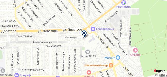 Югтехэлектро, ООО на карте