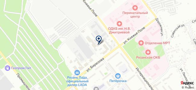 ГАЗ-Профи на карте