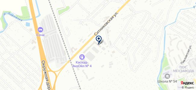 Юнимастер, ООО на карте