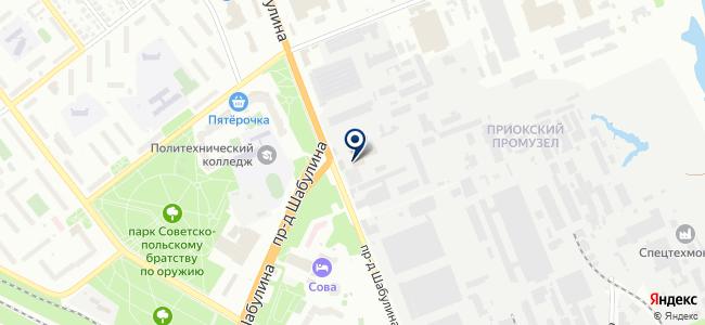 Электрическая компания, ООО на карте