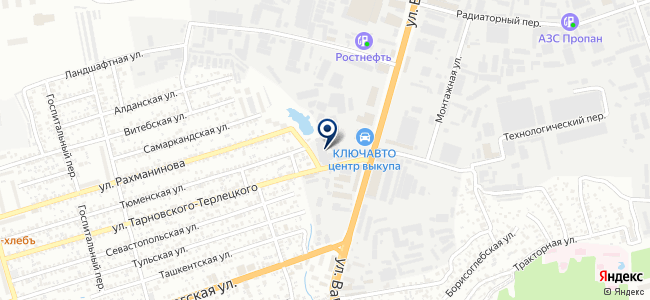 Литер, ООО на карте